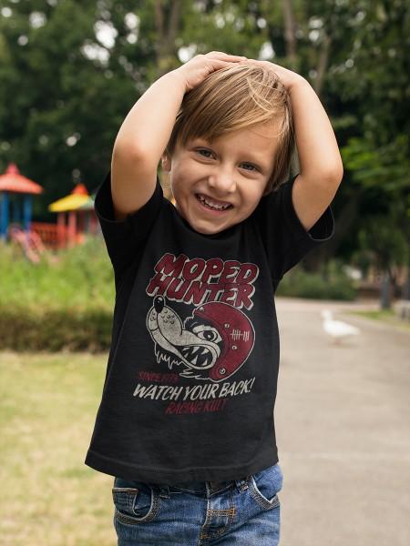 Racing Kult Kinder T-Shirt Moped Hunter