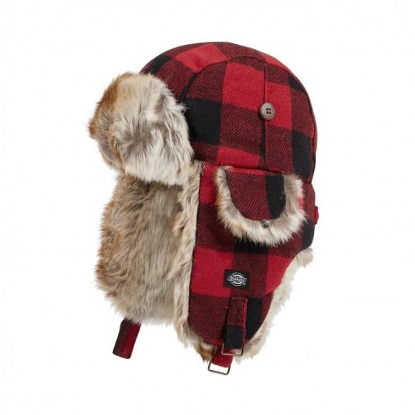 Dickies Trapper Hat Mütze Hut Troud Creek Rot