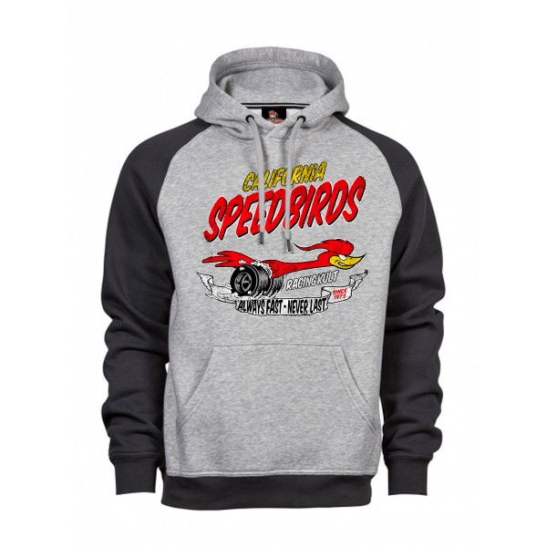 Racing Kult Hoodie California Speebirds