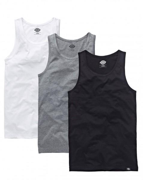 Dickies Shirt Tanktop Vest Multi-Color Pack Of 3