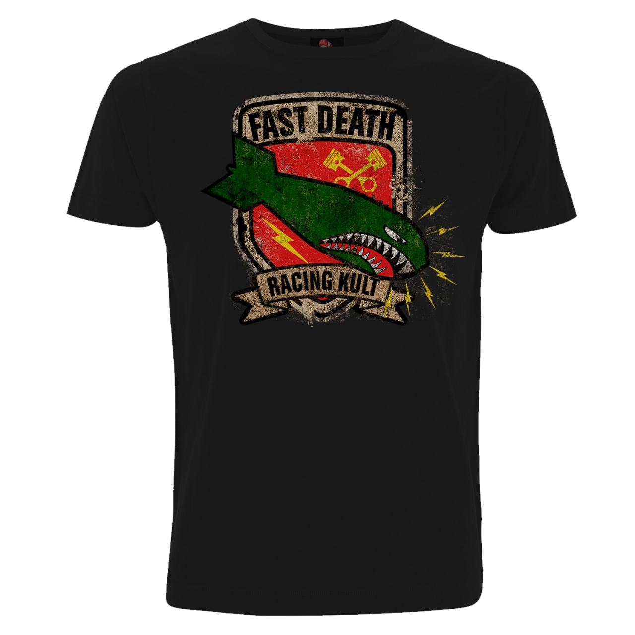 Racing Kult T-Shirt Fast Death Frontprint