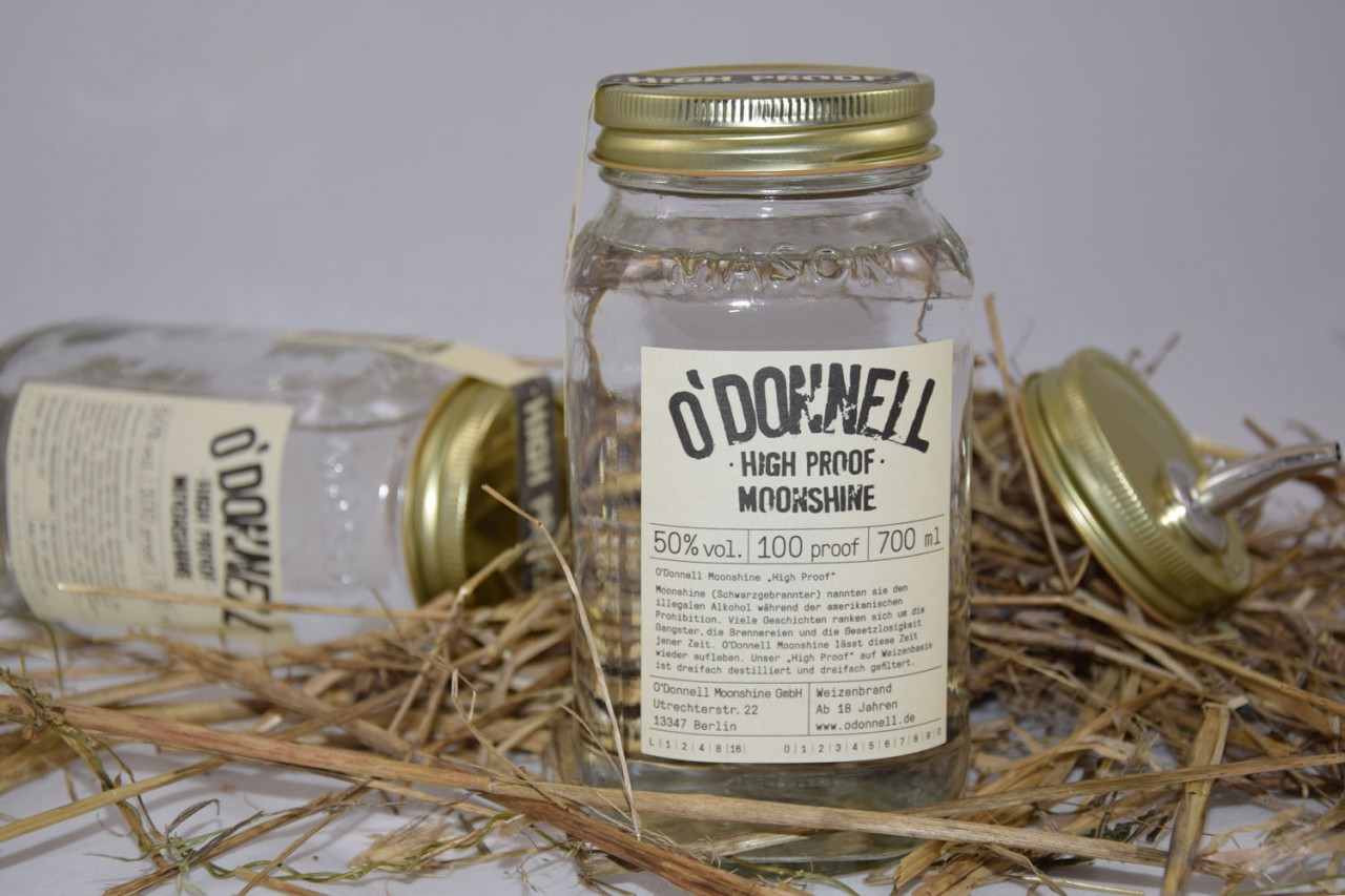 O´Donnell Moonshine High Proof