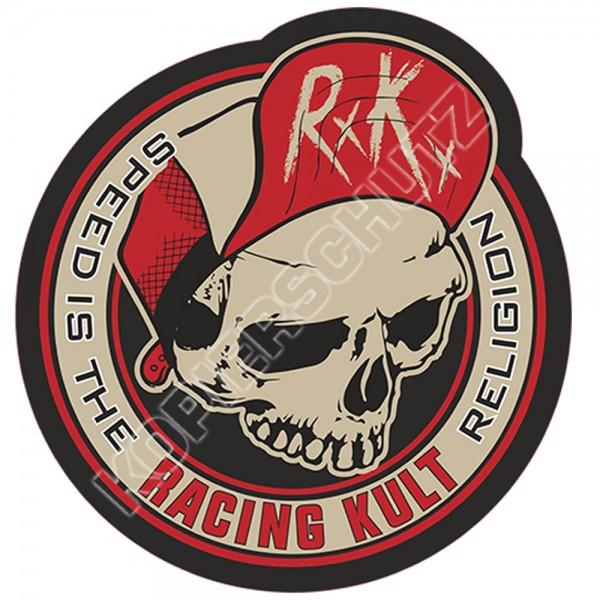 Racing Kult Aufkleber Sticker RK Speed is the Religion Beige/Schwarz in verschiedenen Größen