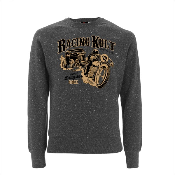 Racing Kult Sweatshirt Dragster Race Black Twist