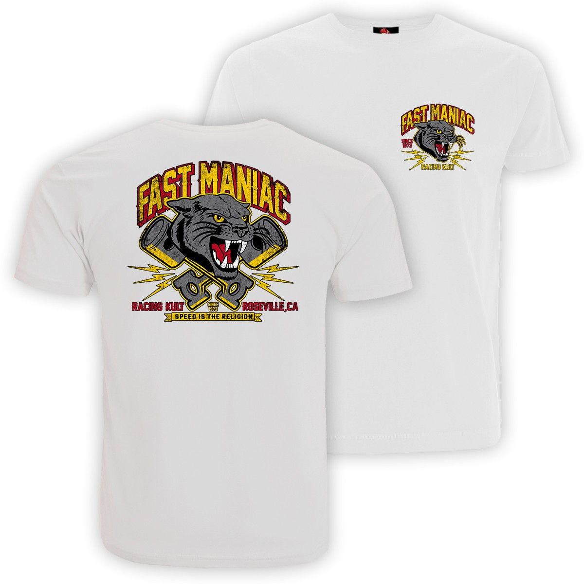 Racing Kult T-Shirt Fast Maniac