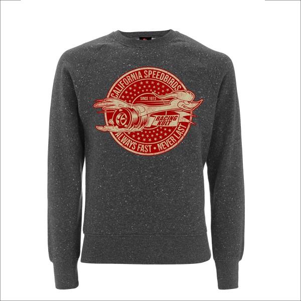 Racing Kult Sweatshirt California Speedbirds Always Fast - Never Last Twist