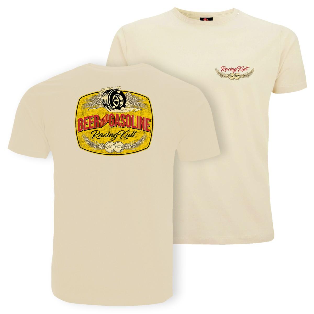 Racing Kult T-Shirt Beer and Gasoline