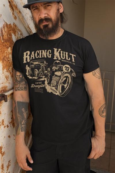 Racing Kult T-Shirt Vintage Dragster Race