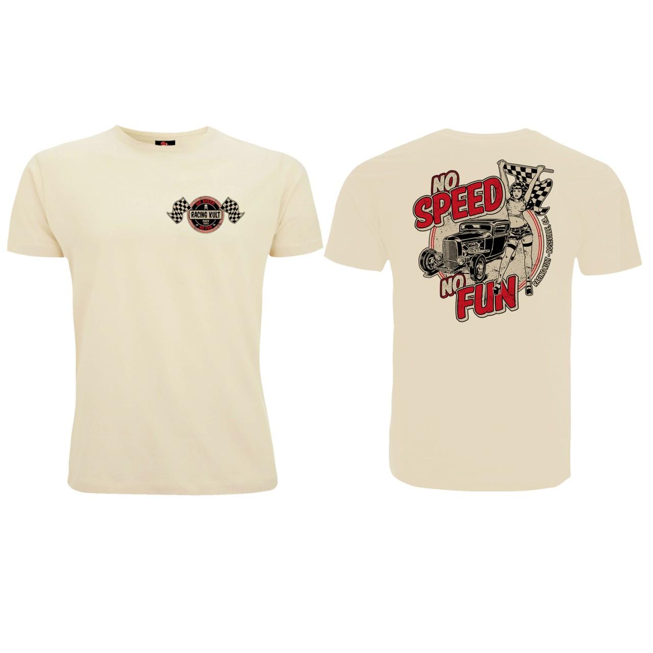 Racing Kult T-Shirt No Speed No Fun