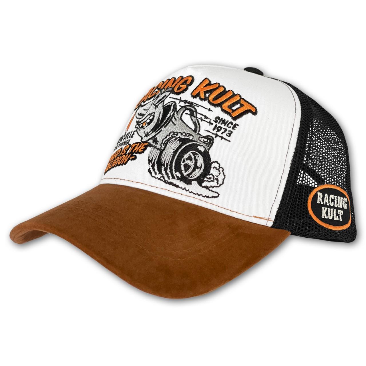Racing Kult Trucker Cap mit Stick Unisex