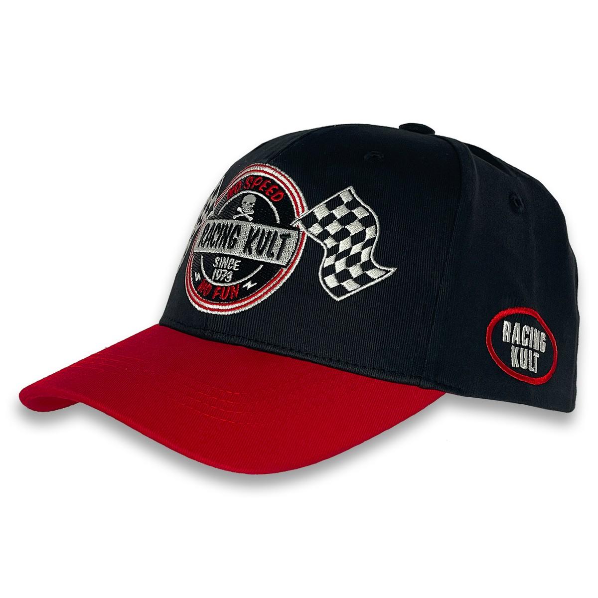 Racing Kult Flex Cap No Speed No Fun mit Stick Unisex