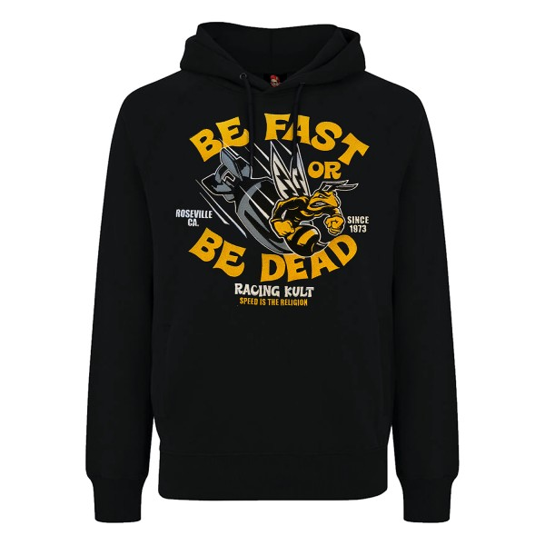 Racing Kult Premium Hoodie Speed Be mit Stick