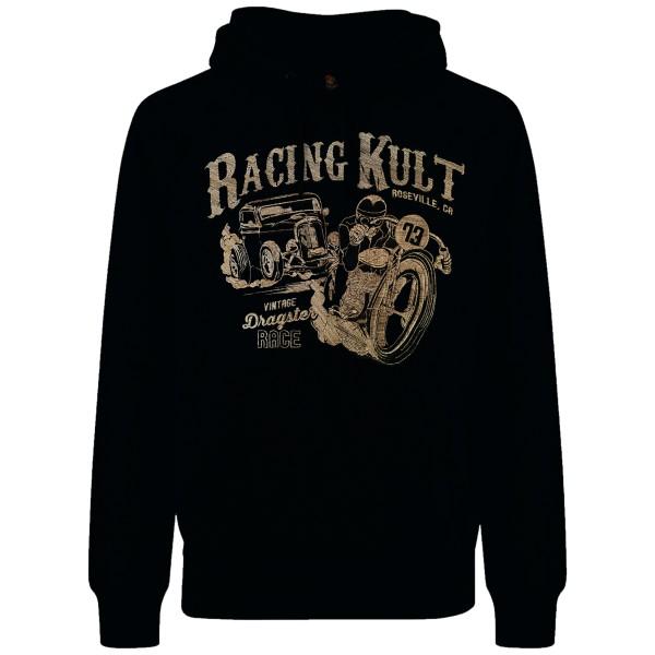 Racing Kult Premium Hoodie Vintage Dragster Race Stick