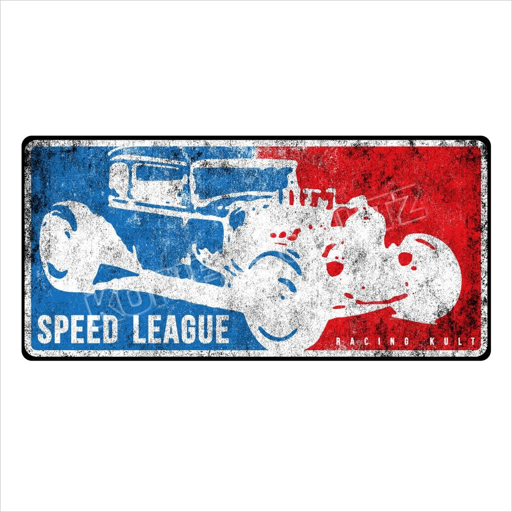 Racing Kult Aufkleber Sticker Speed League Auto Oldschool in verschiedenen Größen