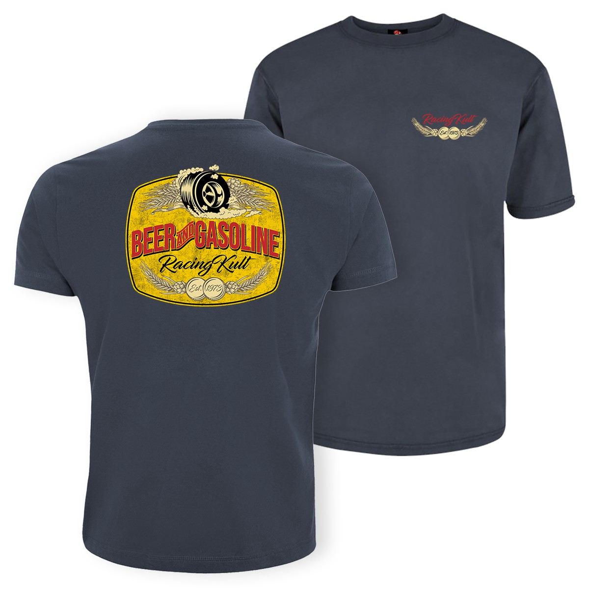Racing Kult T-Shirt Oversized Beer and Gasoline